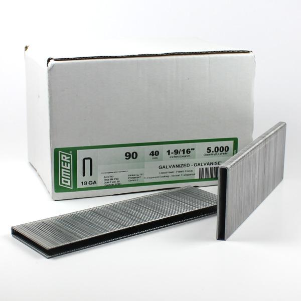 Oroginální balení spon v papírové krabičce